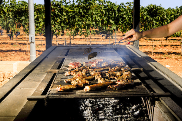 BARBECUE IN THE VINEYARD